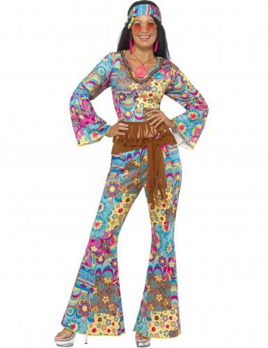 Costume da hippie per donna adulta