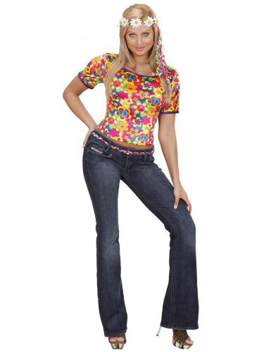 Costume da hippie per donna