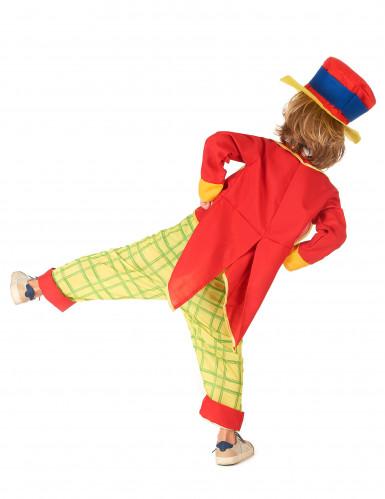 Costume da clown divertente per bambino-2