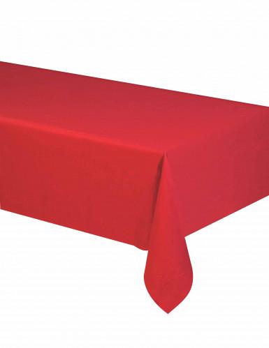 Tovaglia rossa di carta