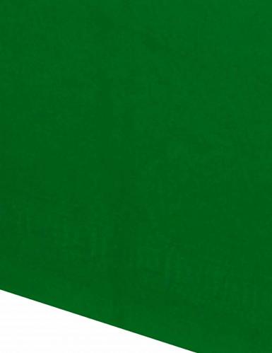 Tovaglia verde di carta-1