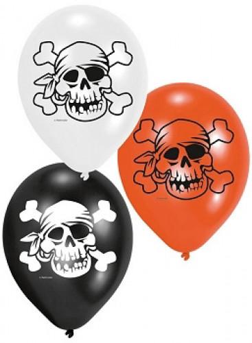 6 Palloncini dei pirati