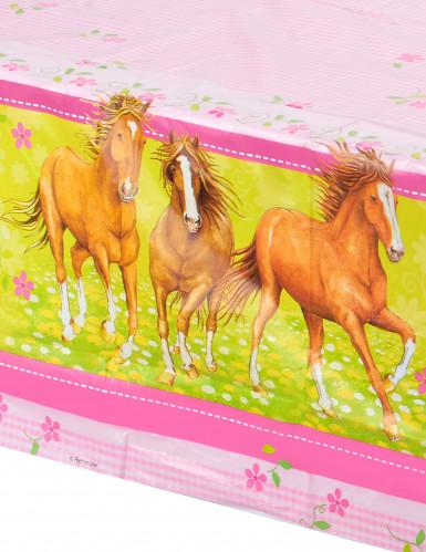 Tovaglia con cavalli 120x180 cm-1