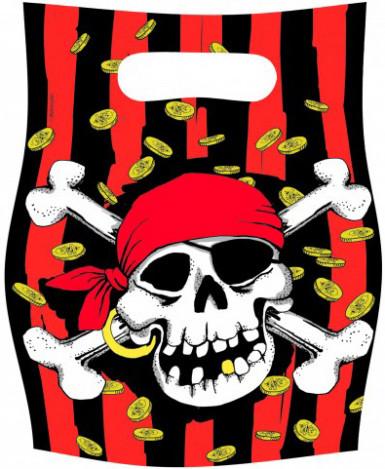 6 sacchetti pirati