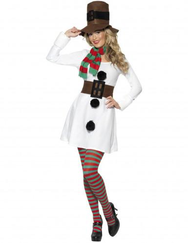 Costume pupazzo neve donna natale