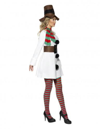 Costume pupazzo neve donna natale-1