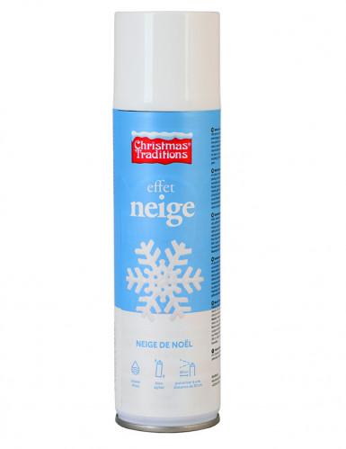 Una bomboletta di neve spray