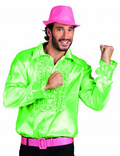 Camicia uomo disco verde