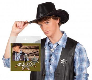 Set collana e stemma cowboy