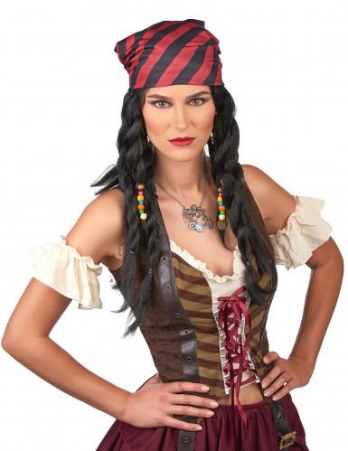Parrucca per donne pirata-1