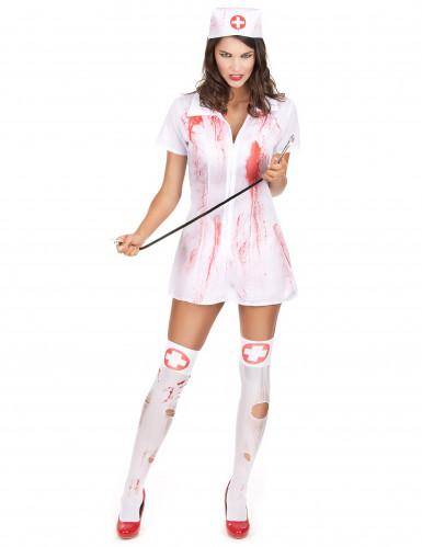 Costume da infermiera psicopatica per Halloween
