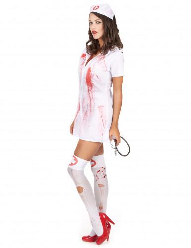 Costume da infermiera psicopatica per Halloween-1