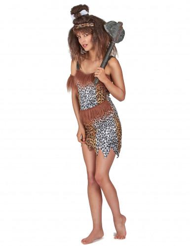 Costume sexy donna delle caverne-1