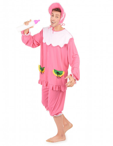 Costume rosa da neonato per uomo-1