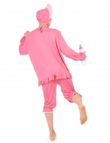 Costume rosa da neonato per uomo-2