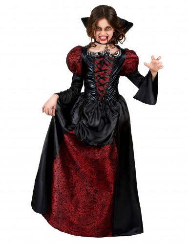 Costume di Hallowen da vampiro per bambina