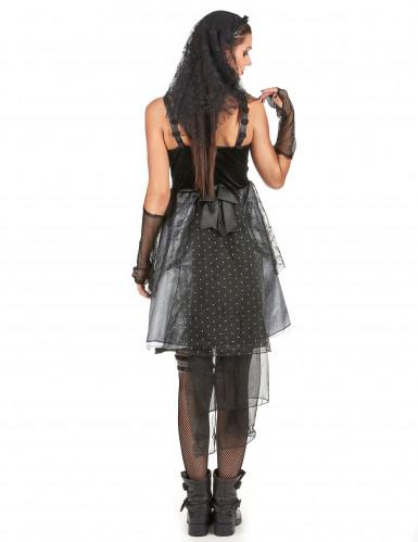 Costume da sposa gotica per donna-2