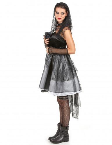 Costume da sposa gotica per donna-1