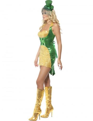 Costume sexy folletto irlandese per donna-2