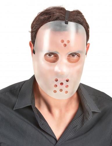 Maschera fosforescente da hockey per adulti-1
