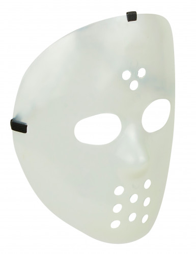 Maschera fosforescente da hockey per adulti