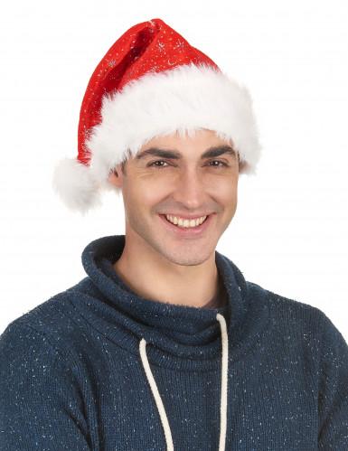 Cappello da Babbo Natale scintillante-1