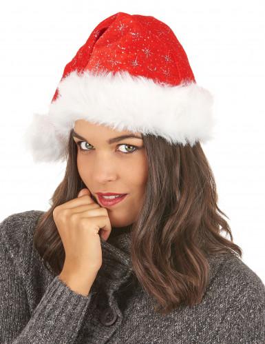Cappello da Babbo Natale scintillante-2