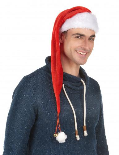 1 cappello rosso e bianco natalizio-1