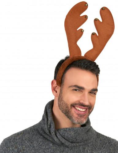 Cerchietto da renna natalizio-1
