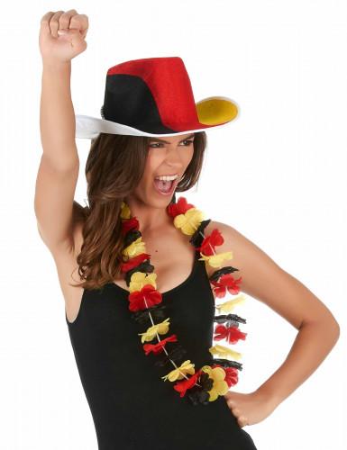 Collana hawaiana con i colori della Germania-1