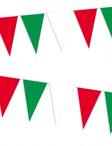 Ghirlanda a bandierine con colori Italia