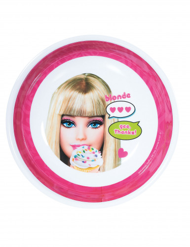 Piatto fondo Barbie in melammina