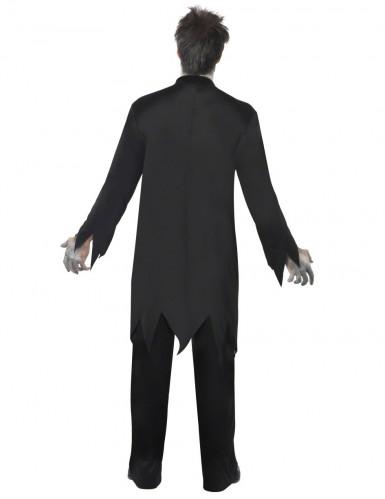 Costume uomo prete zombie-2