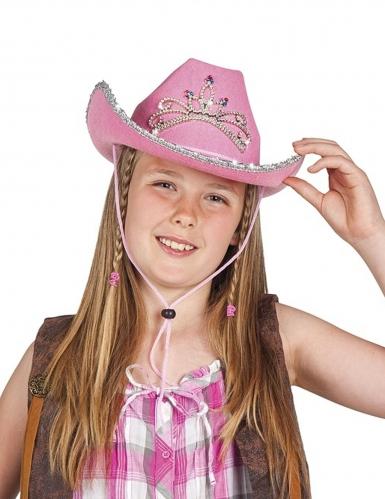 Cappello stile principessa cowgirl da ragazza
