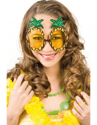 Occhiali ananas per adulto