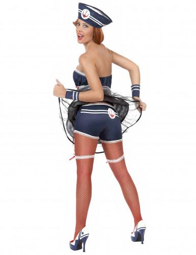Costume da marinaia sexy per donna adulta-1