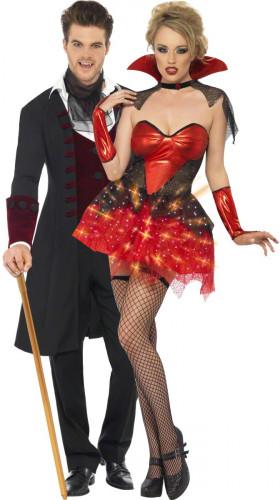 Travestimento coppia di vampiri per Halloween