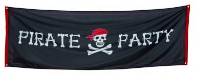 Striscione per festa a tema pirati