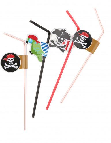 Lotto 6 cannucce pirata