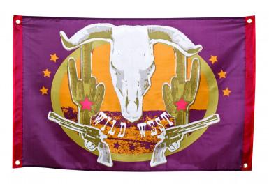 Bandiera stile western