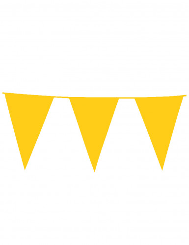 Ghirlanda con bandierine gialle