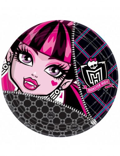Lotto di 8 piatti Monster High™ Halloween