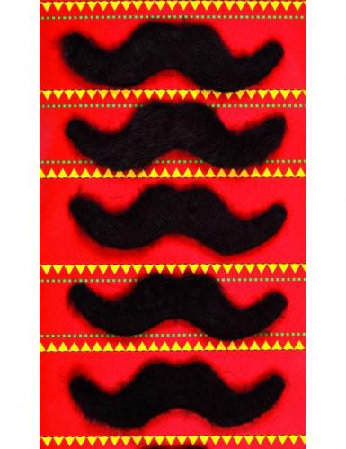 5 baffi stile messicano