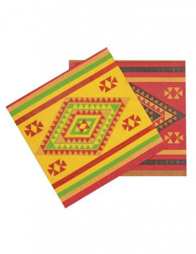Tovaglioli in stile messicano