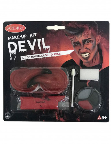Kit completo demone adulto Halloween-4