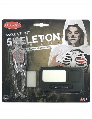 Kit per il trucco da scheletro
