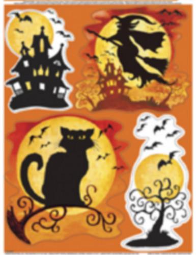 Adesivi finestra per Halloween