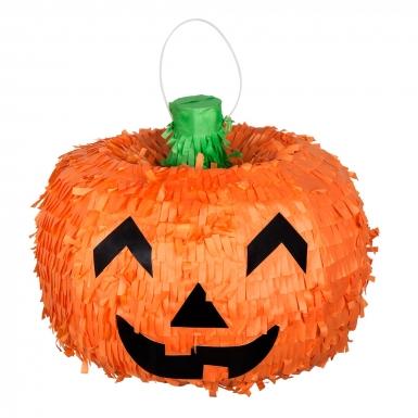 Pignatta a forma di zucca in 3D per Halloween