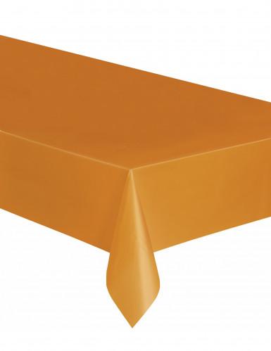 Tovaglia arancione in plastica