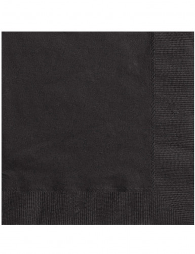 20 tovaglioli neri di carta